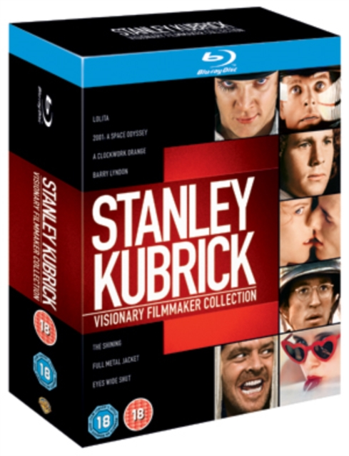 Stanley Kubrick Visionary Filmmaker Blu Ray Collection (Region Free)