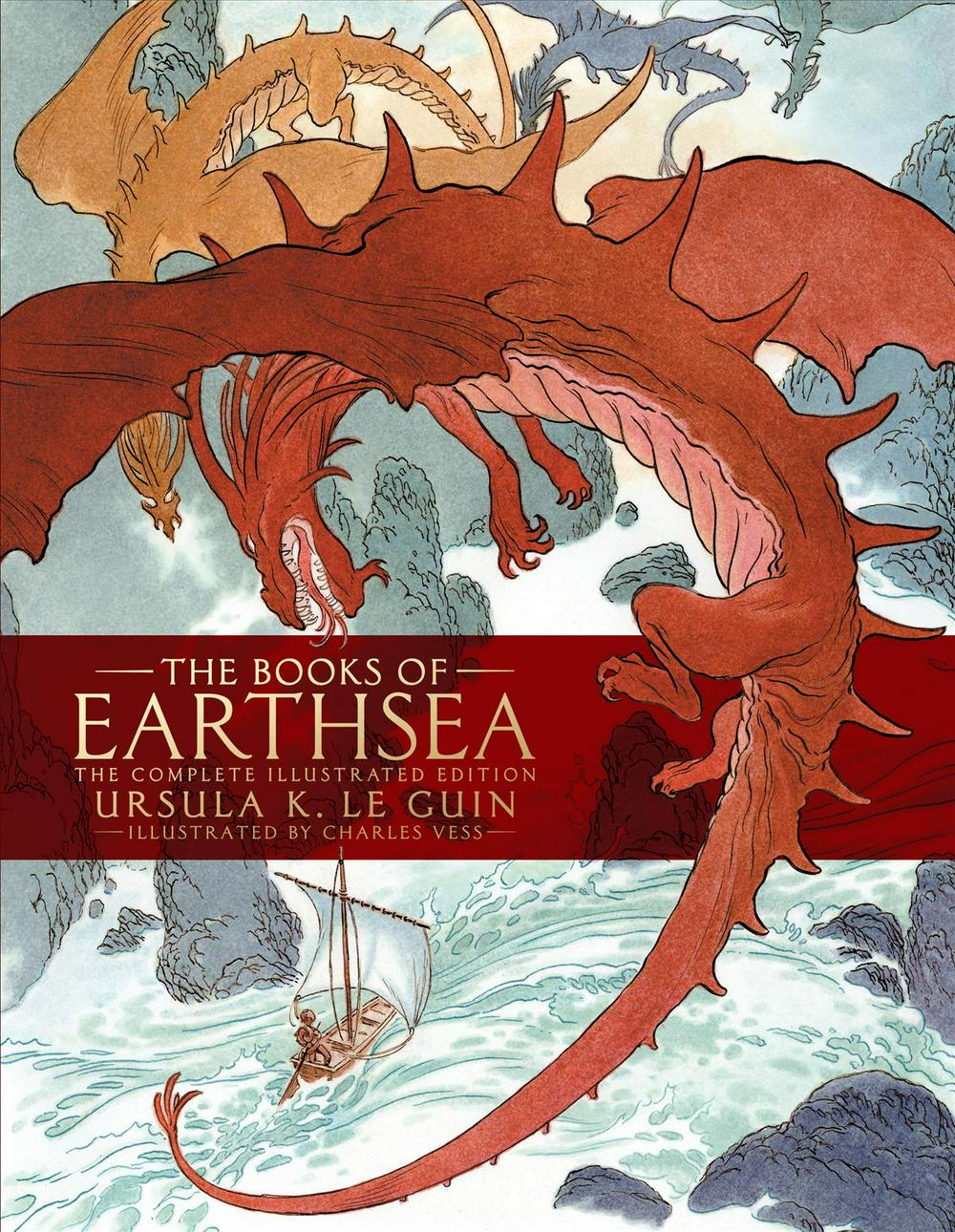 The Books of Earthsea: The Complete Illustrated Edition (Earthsea Cycle)