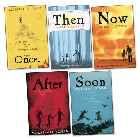 Once, Then, Now, After, Soon Pack, 5 books, RRP £34.95
