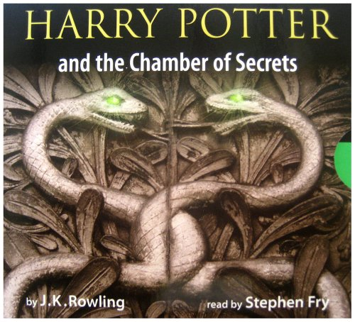 Harry Potter and the Chamber of Secrets adult edition 8XCD