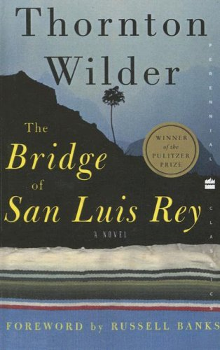 the bridge of san luis rey essay questions We asked our friend steve myck to read 'the bridge of san luis rey' by thornton wilder you'll enjoy his reflections on the big questions of life.