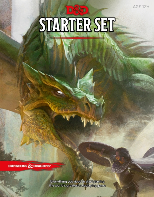 Dungeons & Dragons Starter Set: Fantasy Roleplaying Fundamentals (D&D Boxed Game)