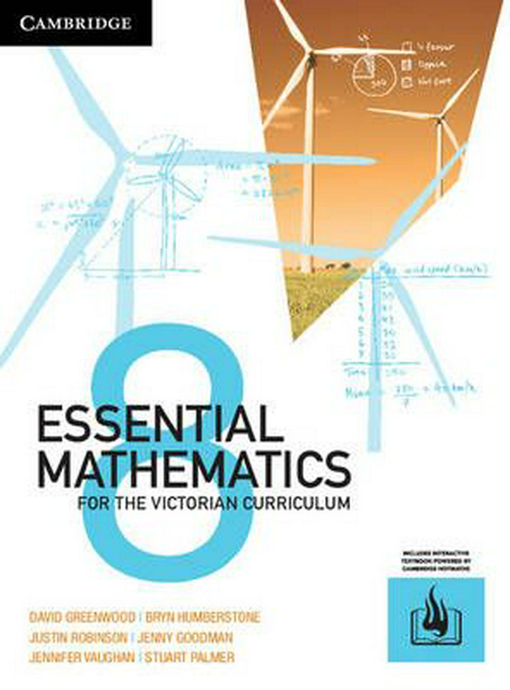 Essential Maths for the Victorian Syllabus Year 8 Print Bundle (Textbook and Hotmaths)