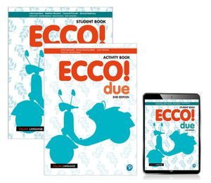 Ecco! due Combo Pack (Student Book and Activity Book with Reader+