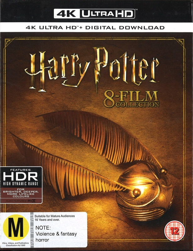 Harry Potter - Complete 8-Film Collection [4K UHD] [Blu-ray] [2017] by Warner Bros. Home Ent., ISBN: 5051892209823