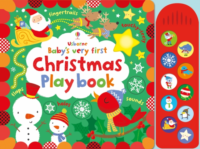 Baby's Very First Touchy-Feely Christmas Play BookBaby's Very First Books