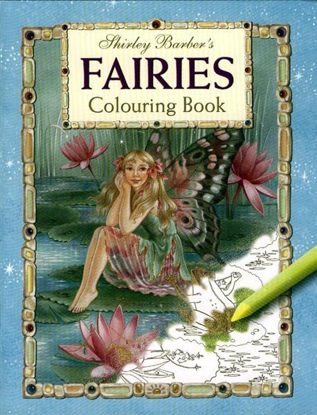Shirley Barber's Fairies ABC Colouring Book