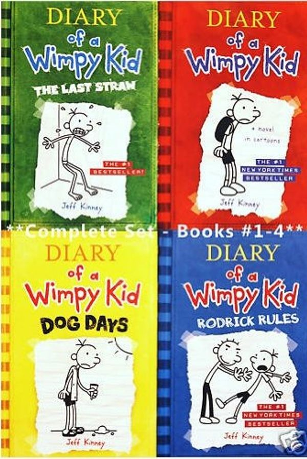 Booko Comparing Prices For Diary Of A Wimpy Kid Books 1 4 Diary Of A Wimpy Kid Rodrick Rules The Last Straw And Dog Days