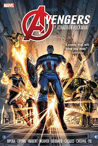 Avengers by Jonathan Hickman Omnibus Vol. 1 by Jonathan Hickman, ISBN: 9781302907082