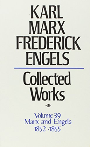 Collected Works of Karl Marx & Frederick Engels - Correspondence Volume 39
