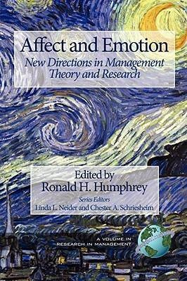 Affect and Emotion by Ronald H Humphrey, ISBN: 9781593119591