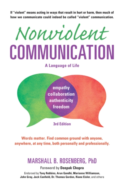 Nonviolent Communication: A Language of LifeLife-Changing Tools for Healthy Relationships by Marshall B. Rosenberg, ISBN: 9781892005281