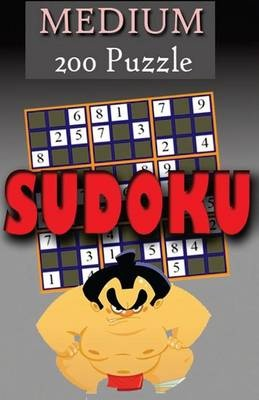 Sudoku Puzzle Book (Volume 1)200 Puzzles Medium