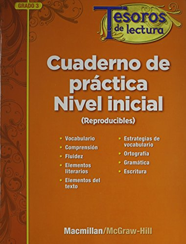 Tesoros de Lectura, a Spanish Reading/Language Arts Program, Grade 3, Approaching Reproducibles by MacMillan/McGraw-Hill, ISBN: 9780022045104