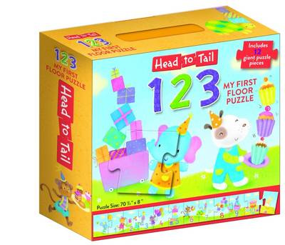 Head to Tail 123 Floor Puzzle
