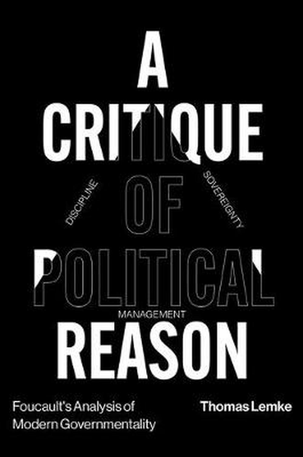 Booko: Comparing prices for A Critique of Political Reason