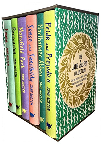 Jane Austen Collection, Deluxe Box Gift Set: Containing: Pride and Prejudice, Emma, Sense and Sensibility, Persuasion, Mansfield, Northanger Abbey by Jane Austen, ISBN: 9789526527550