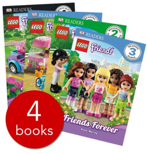 LEGO Friends Readers - 4 Books (RRP £19.96)