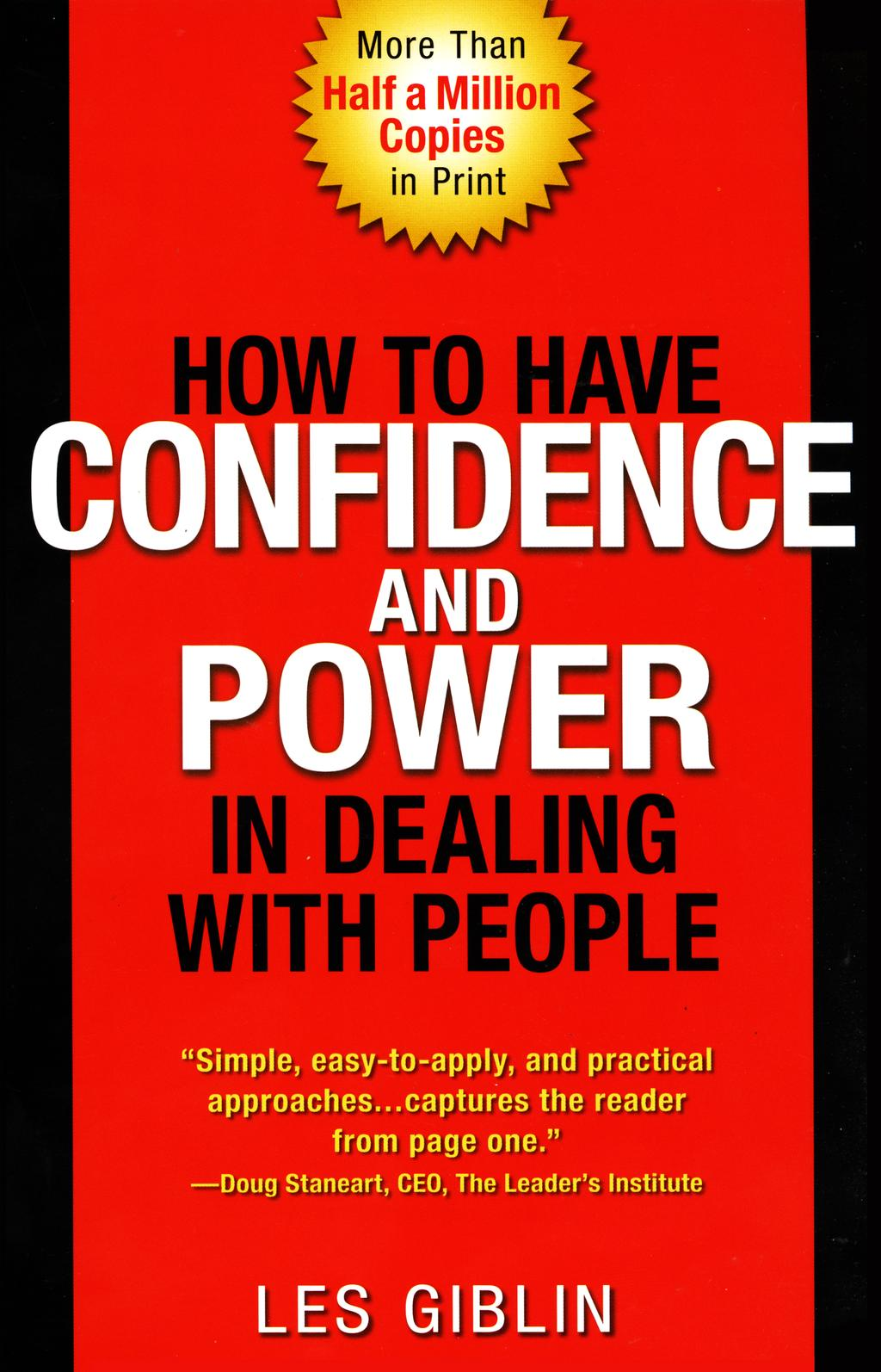 How to Have Confidence and Power