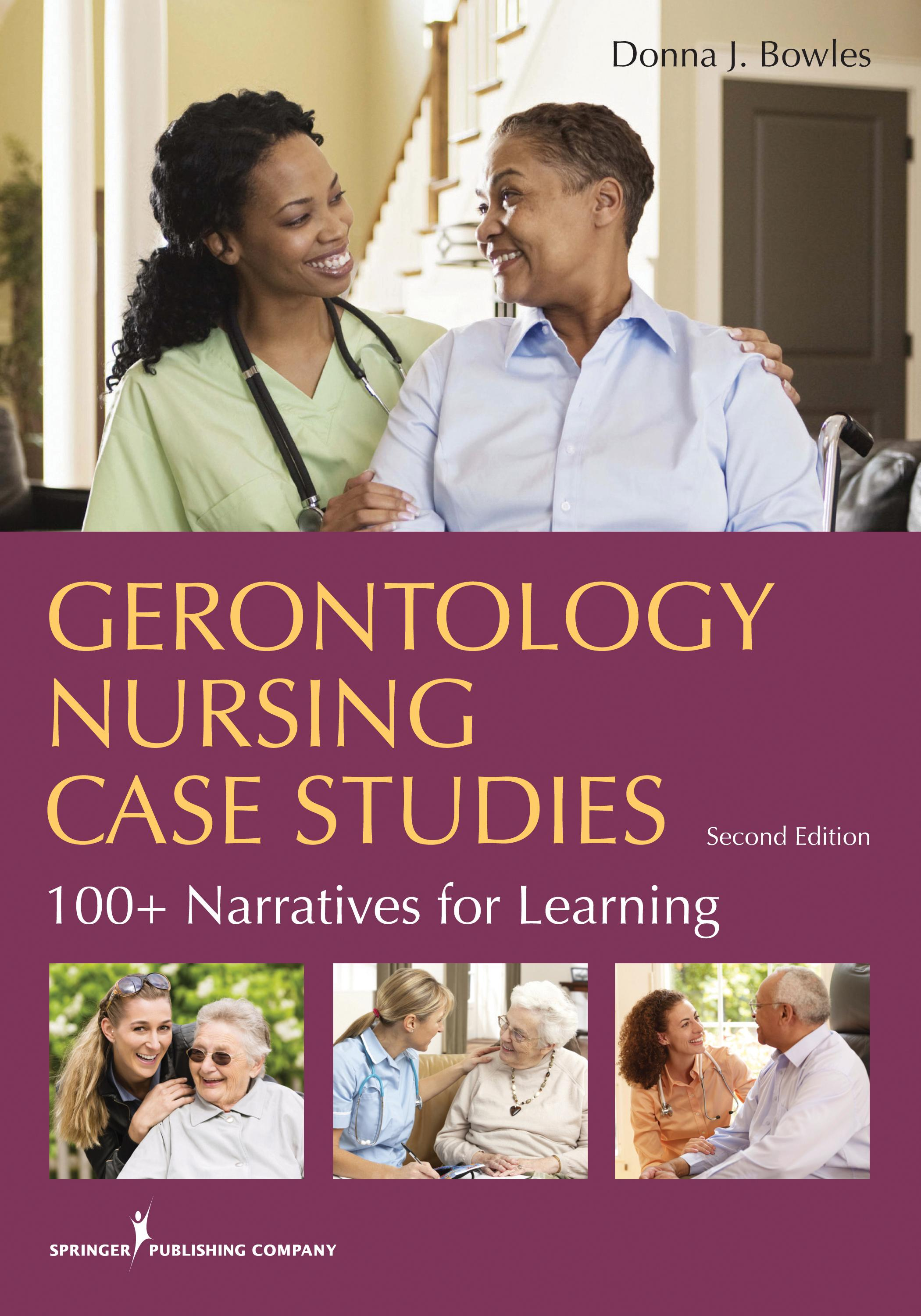 case analysis for gerontology The case for critical social gerontology in social work education and older women 1 a brief overview of this paper was presented at the joint social work education conference 2002.
