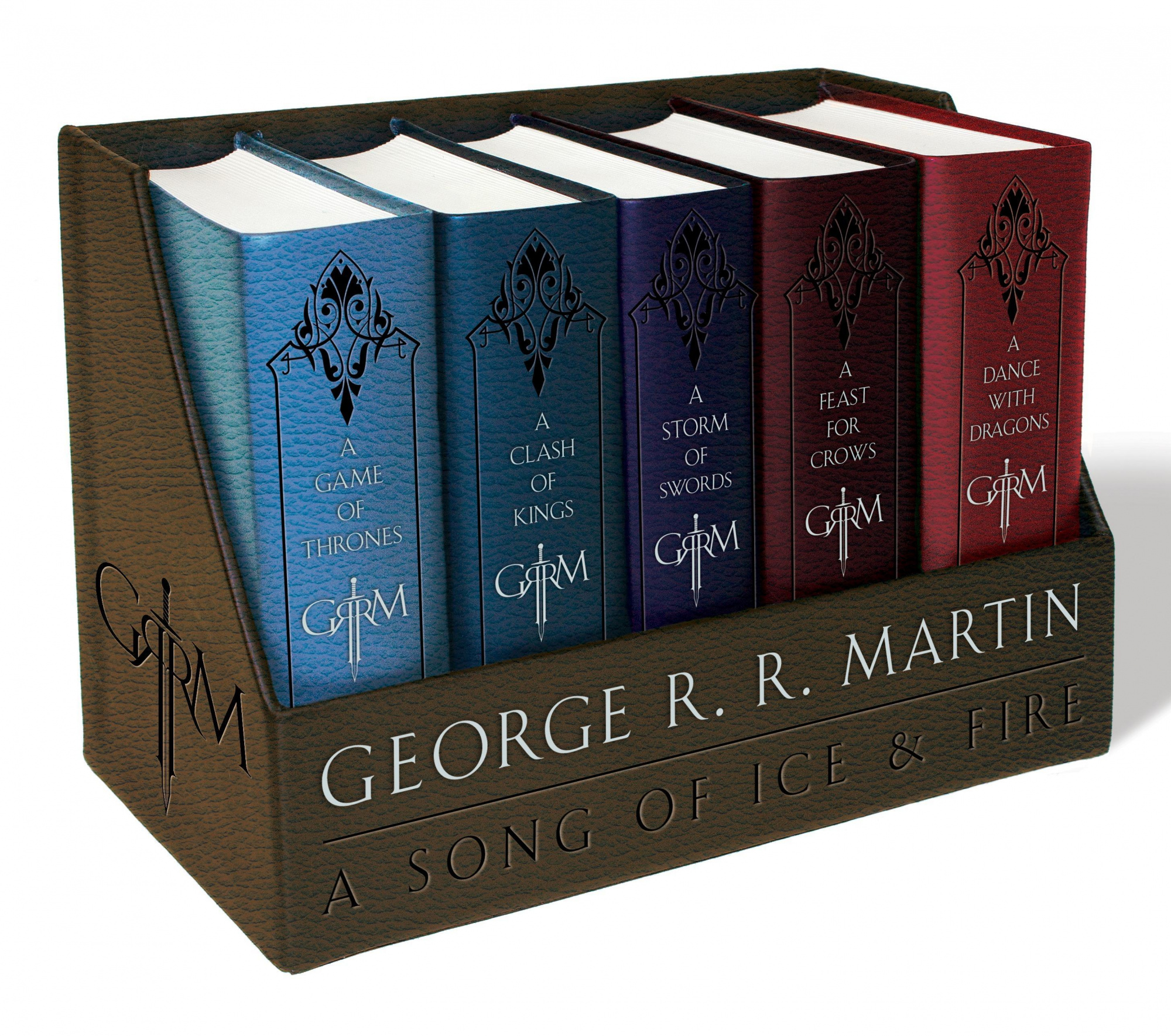 George R. R. Martin's a Game of Thrones Boxed Set: A Game of Thrones / a Clash of Kings / a Storm of Swords / a Feast for Crows / a Dance With Dragons (Song of Ice and Fire) by George R. R. Martin, ISBN: 9781101965481