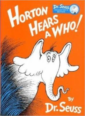DR. SEUSS HORTON HEARS A WHO! Collector's Edition by Kohls Cares for Kids by Dr. Seuss, ISBN: 9780375972799