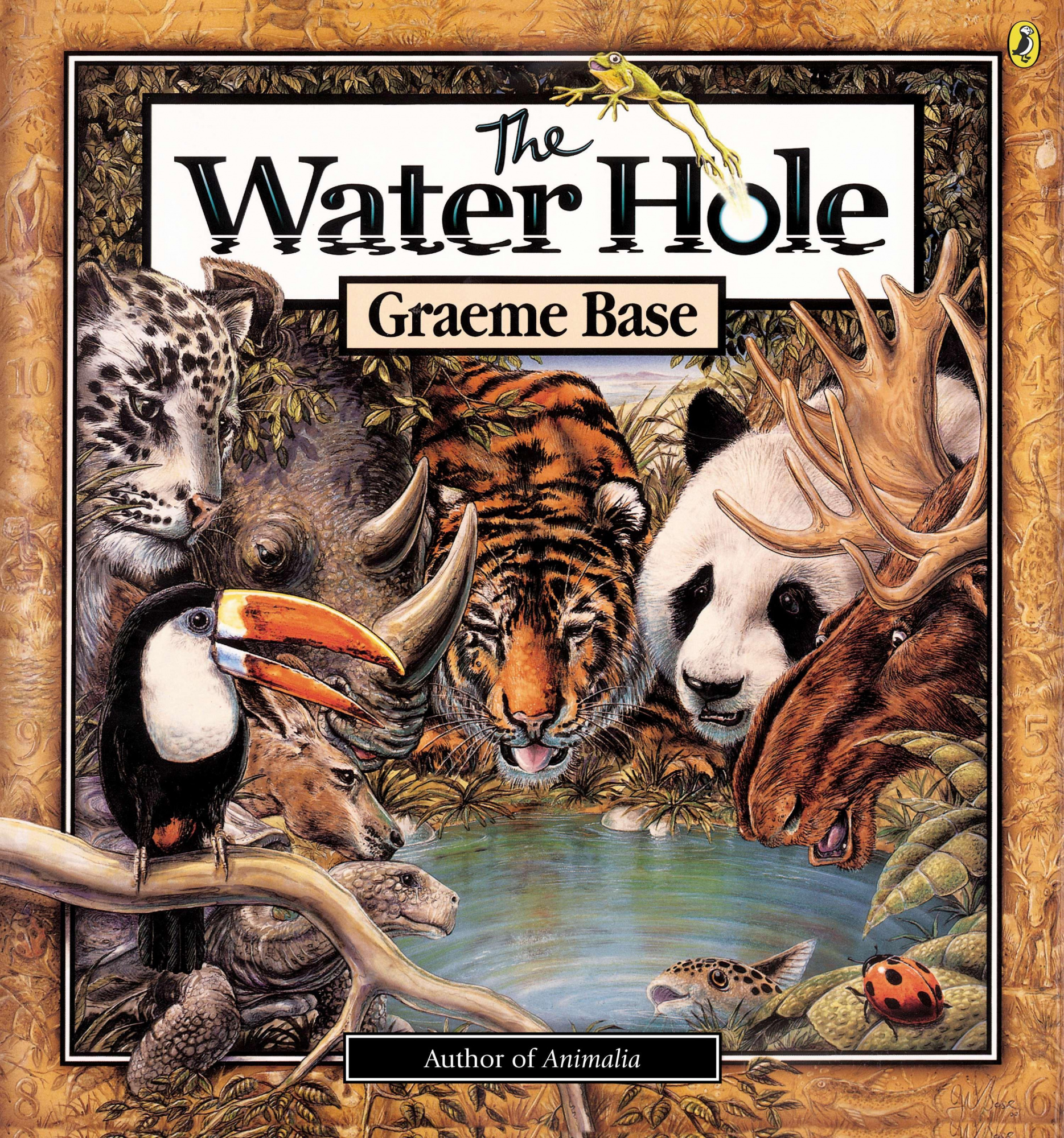 The Water Hole by Graeme Base, ISBN: 9780142401972