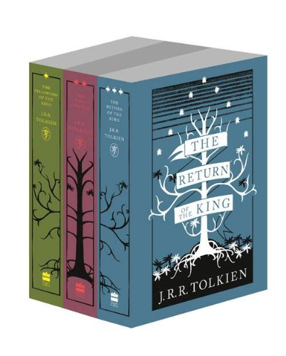 Lord of the Rings 3-book clothbound special editions
