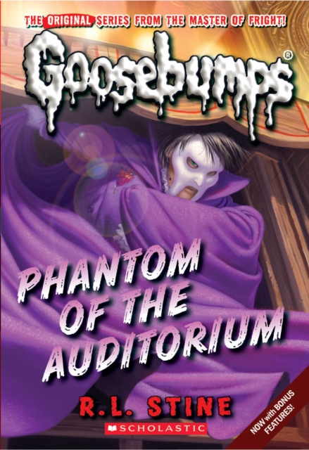 Phantom of the Auditorium by R L Stine, ISBN: 9780545298360