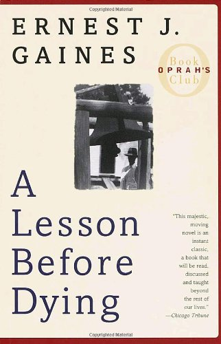 a book analysis of a lesson before dying by earnest gaines - a lesson before dying for my final book review i read the novel a lesson before dying by ernest j gains the book took place in the 1940 right after the great depression a society stricken by poverty is depicted early in the book.