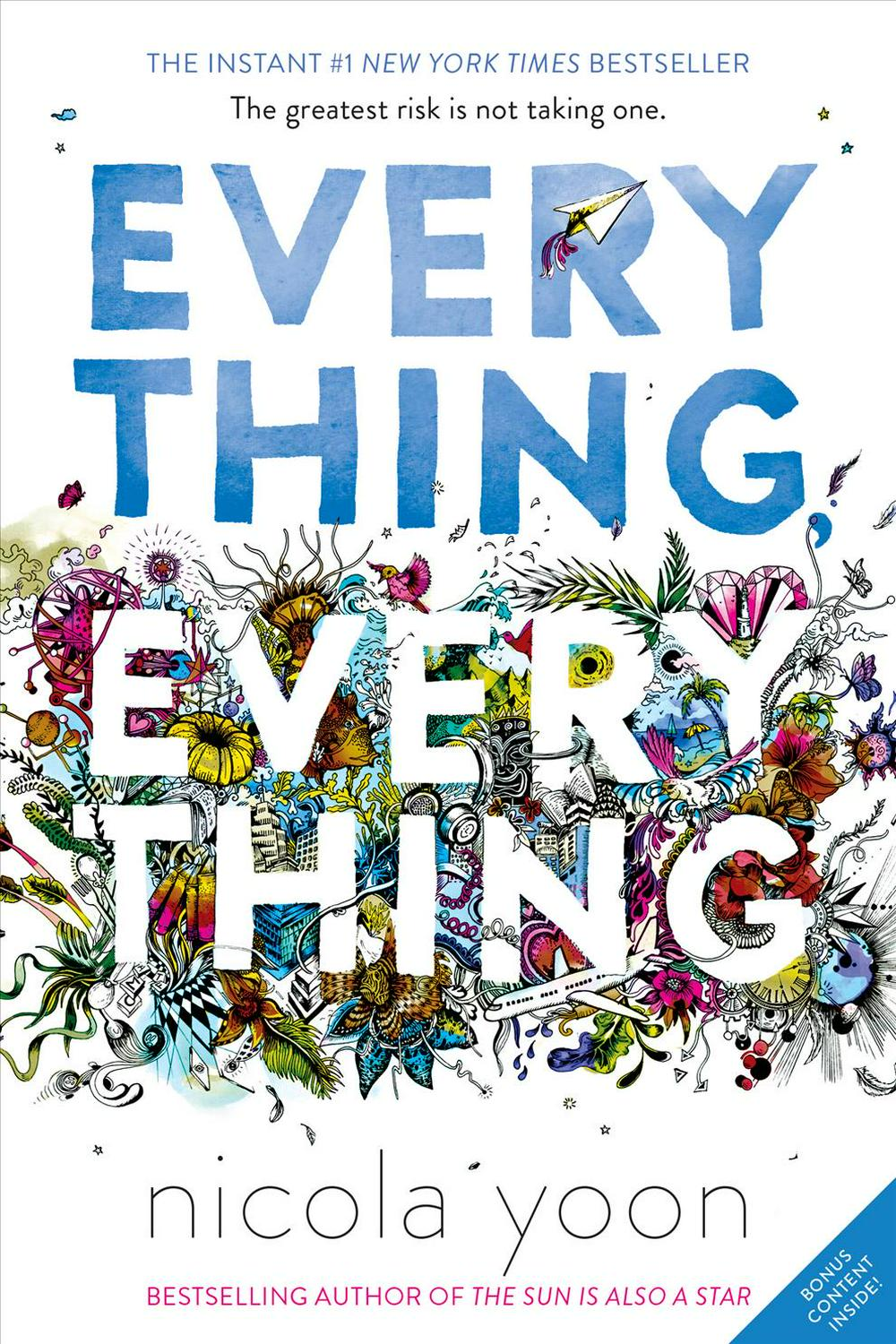 Everything, Everything by Nicola Yoon, ISBN: 9780553496673