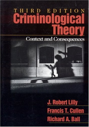 criminological theories dealing with the departed Sociological theories of criminology believe that society influences a person to become a criminal examples include the social learning theory, which says that people learn criminal behavior from.
