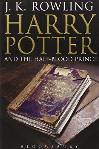 Harry Potter and the Half-Blood Prince (adult edition) by J.K. Rowling, ISBN: 9780747581109