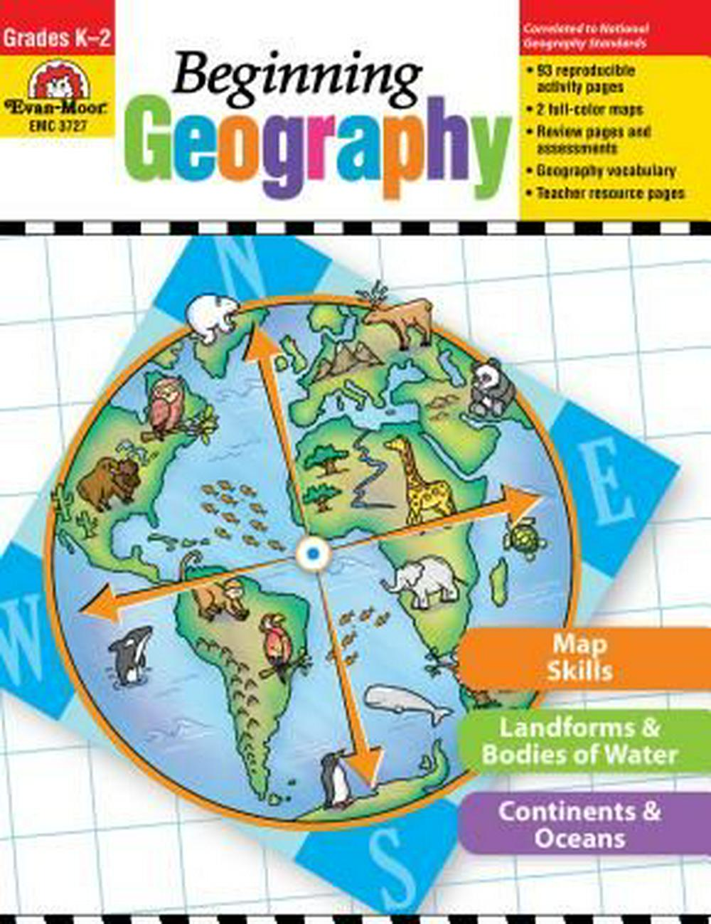 Beginning Geography, Grades K-2 by Evan-Moor, ISBN: 9781608236763