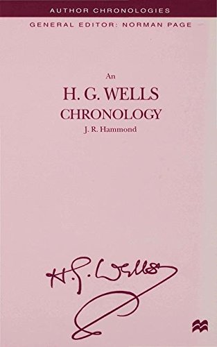 An H.G. Wells Chronology