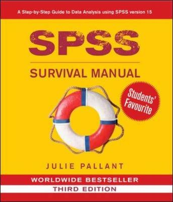 SPSS Survival Manual by Julie Pallant, ISBN: 9780335223664