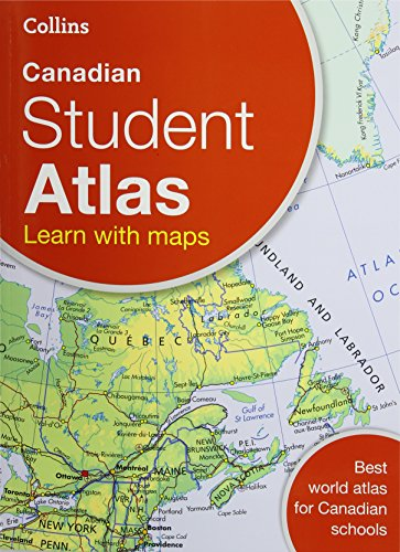 Collins Canadian Student Atlas by Collins Maps, ISBN: 9780007946952