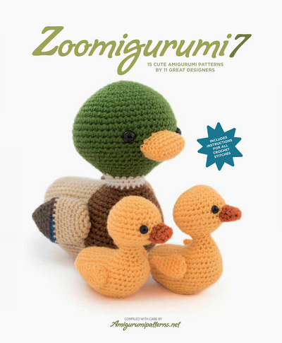 Zoomigurumi 7: 15 Cute Amigurumi Patterns by 13 Great Designers