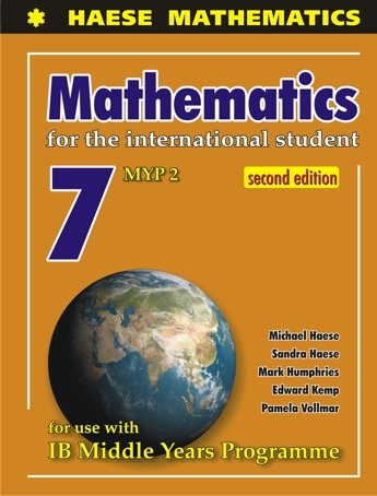 MATHS MYP 2 YEAR 7 by HAESE, ISBN: 9781921972454