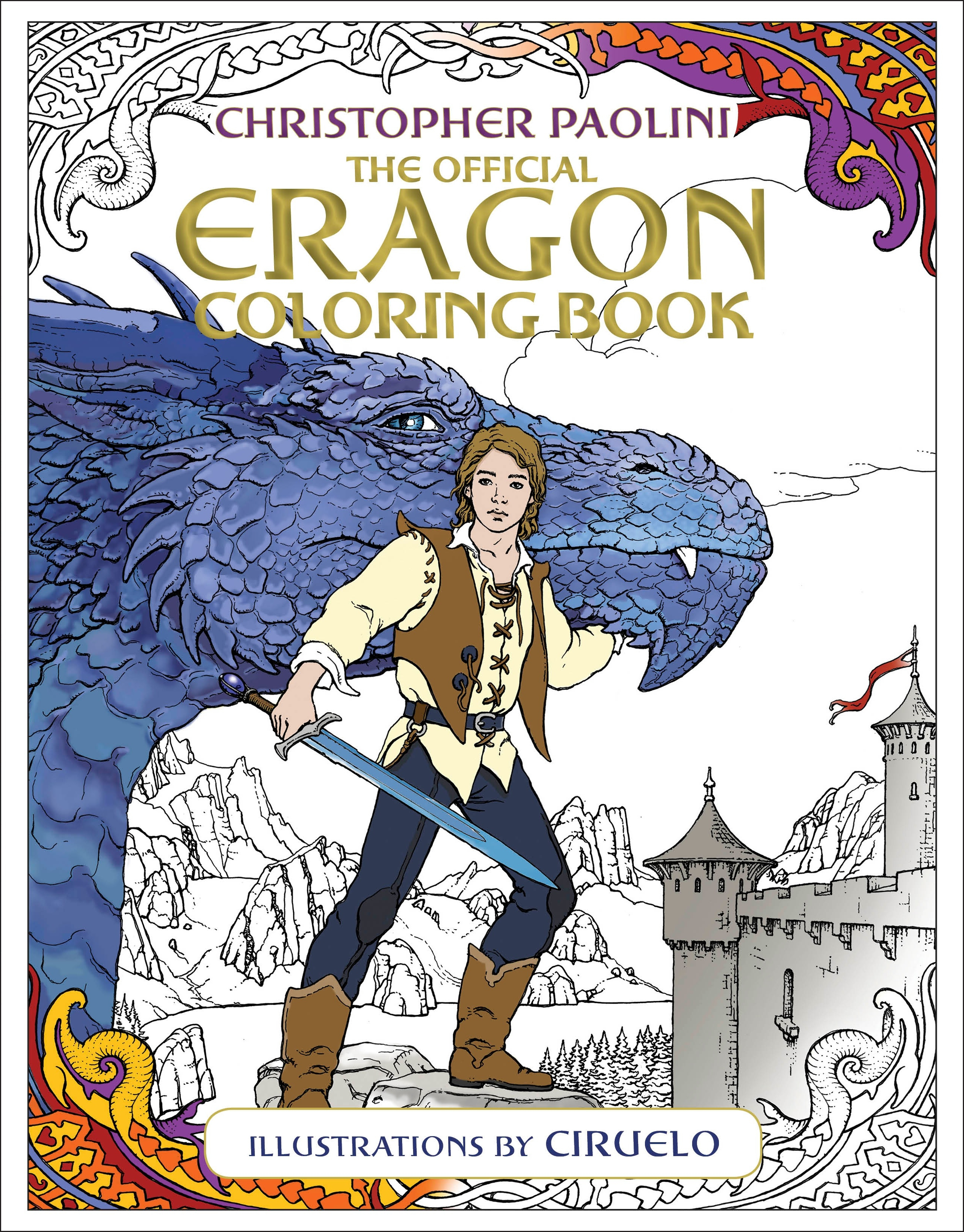 The Official Eragon Coloring BookInheritance Cycle (Paperback)