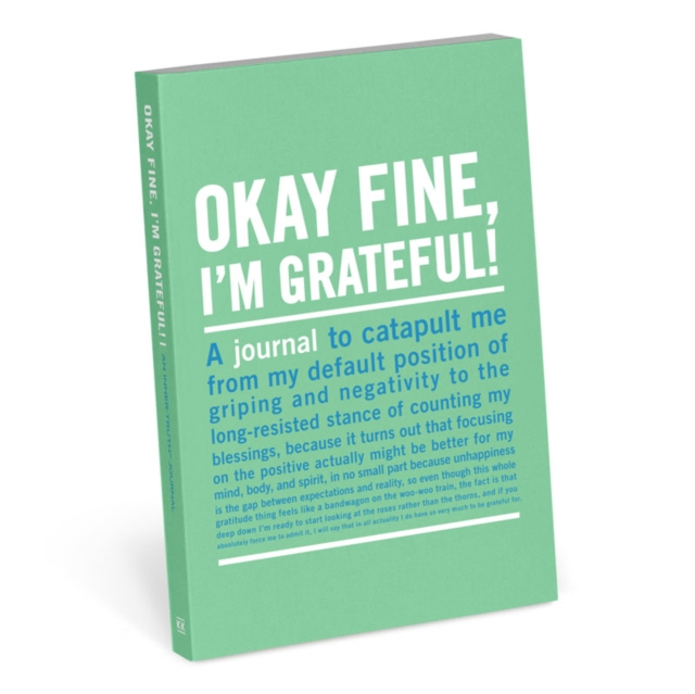 Okay Fine, I'm Grateful Mini Inner-Truth Journal (Knock Knock Journal)