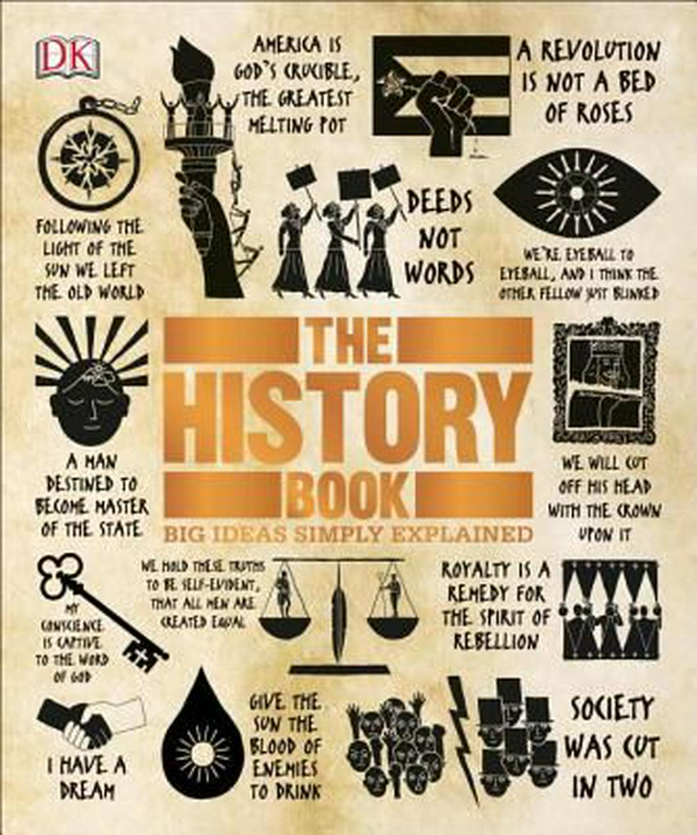 The History Book (Big Ideas Simply Explained) by DK Publishing, ISBN: 9781465445100