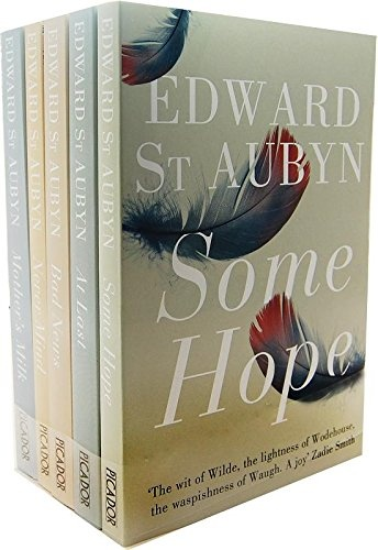 The Patrick Melrose Novels Collection Edward St Aubyn 5 Books Set (Mothers Milk, Never Mind, Some Hope, At Last, Bad News)