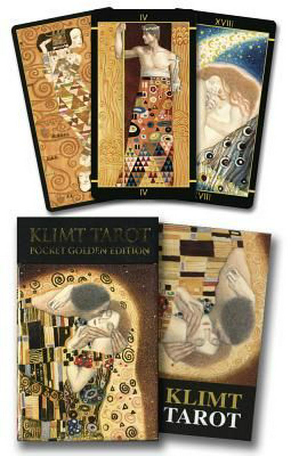 Golden Tarot of Klimt Mini Deck by Atanas A. Atanassov, ISBN: 9780738745343