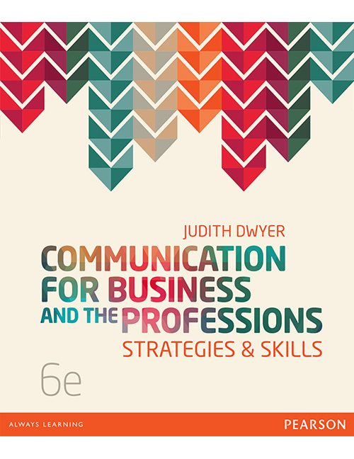 Communication for Business and the ProfessionsStrategies and Skills