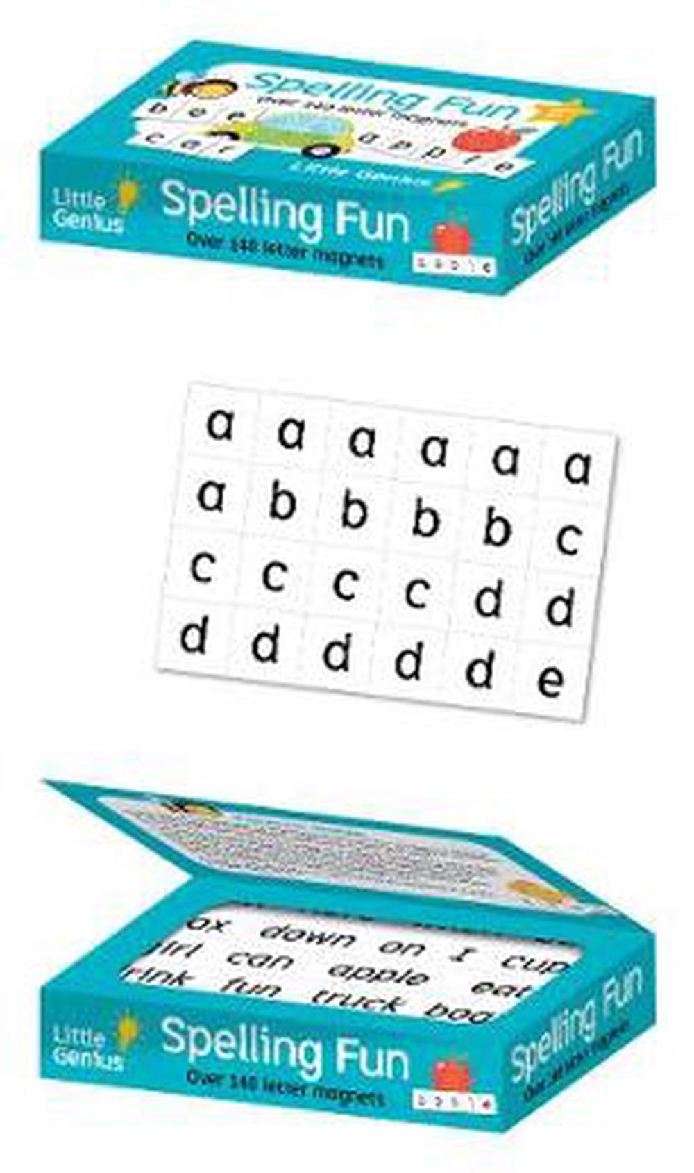 Little Genius Magnetic Wordplay Spelling Fun