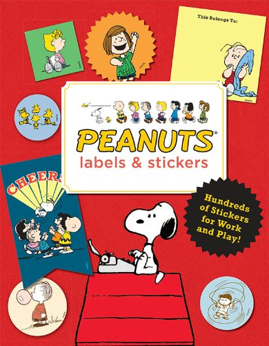 Peanuts Labels and Stickers by Peanuts, ISBN: 9781452124223
