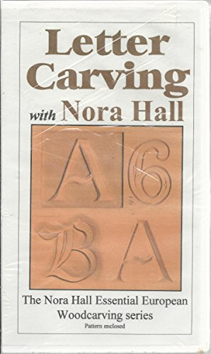 Letter Carving with Nora Hall - The Nora Hall Essential European Woodcarving Series
