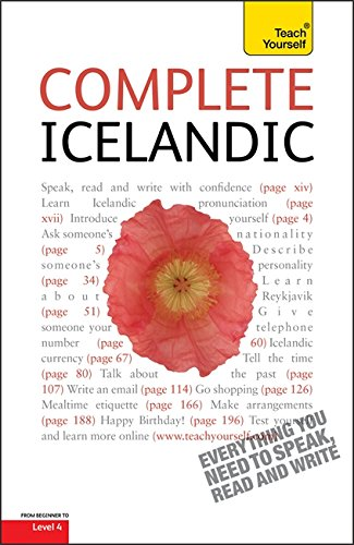 Teach Yourself Complete Icelandic