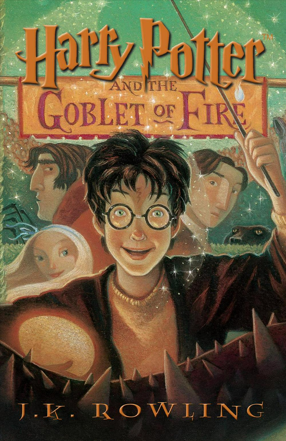 Cover Art for Harry Potter and the Goblet of Fire, ISBN: 9781594130038